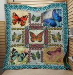 Theartsyhomes Butterfly V2 3D Personalized Customized Quilt Blanket ESR19