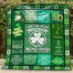 Theartsyhomes Being Irish St.Patricks Day 3D Personalized Customized Quilt Blanket ESR40