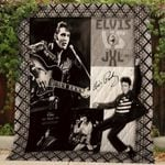 Theartsyhomes Elvis Presley V6 3D Personalized Customized Quilt Blanket ESR1