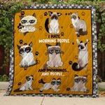 Theartsyhomes Cats TH102 - 3D Personalized Customized Quilt Blanket ESR33