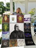 Theartsyhomes Carl Cox 3D Personalized Customized Quilt Blanket ESR42