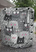 Theartsyhomes Fat cat 3D Personalized Customized Quilt Blanket ESR32
