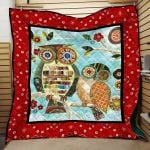 Theartsyhomes Bird Printing Hqc-Qhn00024 3D Personalized Customized Quilt Blanket ESR13