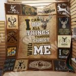 Theartsyhomes Deer Hunting M0801 87o39 3D Personalized Customized Quilt Blanket ESR22