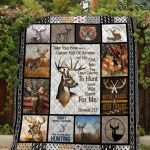 Theartsyhomes Deer Hunter Printing Pm-Qdt00002 3D Personalized Customized Quilt Blanket ESR12