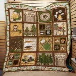 Theartsyhomes Camping #1114-2 Ht-4o 3D Personalized Customized Quilt Blanket ESR35