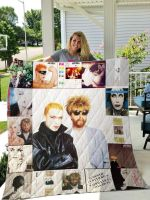 Theartsyhomes Eurythmics Style Two 3D Personalized Customized Quilt Blanket ESR28