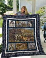 Theartsyhomes English Setter 1 3D Personalized Customized Quilt Blanket ESR39