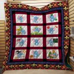 Theartsyhomes Elephant Tnov07 3D Personalized Customized Quilt Blanket ESR2
