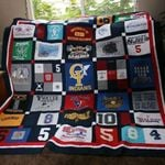 Theartsyhomes Ci Baseball Fabric 3D Personalized Customized Quilt Blanket ESR3