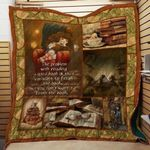Theartsyhomes Book D1003 83o06 3D Personalized Customized Quilt Blanket ESR34