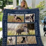 Theartsyhomes Boston Terrier Qui18004 3D Personalized Customized Quilt Blanket ESR29