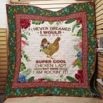 Theartsyhomes Farmer Chicken 3D Personalized Customized Quilt Blanket ESR50