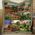 Theartsyhomes Farmer Printing Dml-Qhg00021 3D Personalized Customized Quilt Blanket ESR45