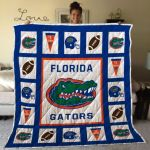 Theartsyhomes Florida Gators Fgt03 3D Personalized Customized Quilt Blanket ESR44