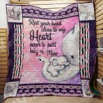 Theartsyhomes Elephant M1901 83o34 3D Personalized Customized Quilt Blanket ESR42