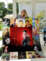 Theartsyhomes Elvis Presley Four 3D Personalized Customized Quilt Blanket ESR32