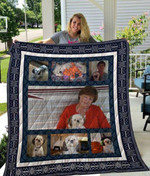 Theartsyhomes Birthday Gift For Wife 3D Personalized Customized Quilt Blanket ESR32