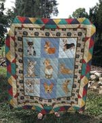 Theartsyhomes Corgi cute 3D Personalized Customized Quilt Blanket ESR33