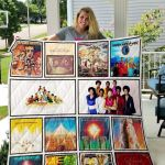Theartsyhomes Earth, Wind & Fire 3D Personalized Customized Quilt Blanket ESR25