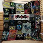 Theartsyhomes Batman Fabric 3D Personalized Customized Quilt Blanket ESR4