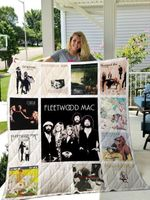 Theartsyhomes Fleetwood Mac 3D Personalized Customized Quilt Blanket ESR33
