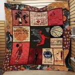 Theartsyhomes Depend basketball till the end 3D Personalized Customized Quilt Blanket ESR16