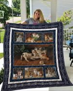 Theartsyhomes Cat 2 3D Personalized Customized Quilt Blanket ESR14