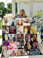 Theartsyhomes Delta Goodrem 3D Personalized Customized Quilt Blanket ESR9
