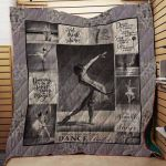 Theartsyhomes Dance #1113-4 Mt-Mo 3D Personalized Customized Quilt Blanket ESR3