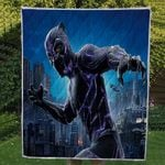Theartsyhomes Black Panther 3D Personalized Customized Quilt Blanket ESR28