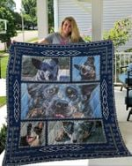 Theartsyhomes Blue Heelers 1 3D Personalized Customized Quilt Blanket ESR32
