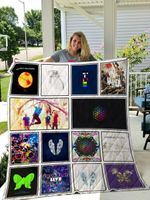 Theartsyhomes Coldplay 3D Personalized Customized Quilt Blanket ESR45