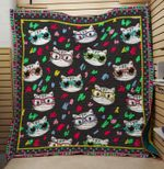 Theartsyhomes Cat cute 3D Personalized Customized Quilt Blanket ESR36