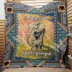 Theartsyhomes Elephant M1401 82o41 3D Personalized Customized Quilt Blanket ESR28
