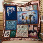 Theartsyhomes Family J0203 85o32 3D Personalized Customized Quilt Blanket ESR9
