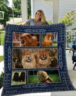 Theartsyhomes Chow Chow 1 3D Personalized Customized Quilt Blanket ESR23