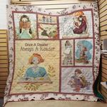 Theartsyhomes Book Reader 3D Personalized Customized Quilt Blanket ESR14