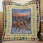 Theartsyhomes Deer Hunting F1902 82o38 3D Personalized Customized Quilt Blanket ESR19