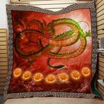 Theartsyhomes Dragon Balls 3D Personalized Customized Quilt Blanket ESR50