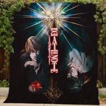 Theartsyhomes Death Note Th176 3D Personalized Customized Quilt Blanket ESR47