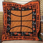 Theartsyhomes Beauty in the hall and a beast when I play basketball 3D Personalized Customized Quilt Blanket ESR13