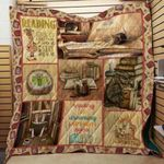 Theartsyhomes Book D1101 83o06 3D Personalized Customized Quilt Blanket ESR36