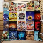 Theartsyhomes Disney Movies Favorite 3D Personalized Customized Quilt Blanket ESR43