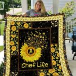 Theartsyhomes Chef Life Dtn-Qdd00002 3D Personalized Customized Quilt Blanket ESR28