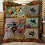 Theartsyhomes Bees V2 3D Personalized Customized Quilt Blanket ESR38