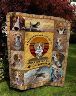 Theartsyhomes Beagle Quotes 3D Personalized Customized Quilt Blanket ESR16