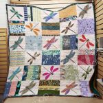 Theartsyhomes Dragonfly M0401 85o33 3D Personalized Customized Quilt Blanket ESR39