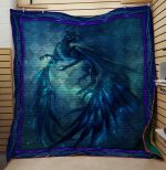 Theartsyhomes Dragon 3D Personalized Customized Quilt Blanket ESR11