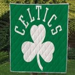 Theartsyhomes Celtics logo 3D Personalized Customized Quilt Blanket ESR47